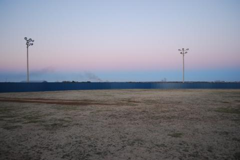Softball Field Fence